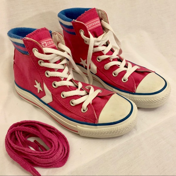 9b261ba13f2a Converse Other - 💚3  20 Cool High Top Converse All-Stars in Pink